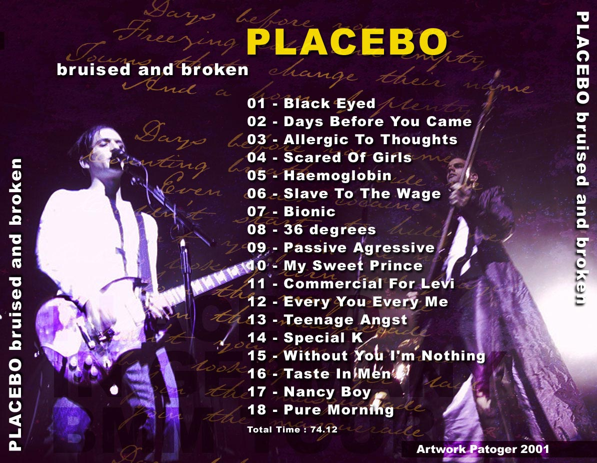 Placebo Englands Trance